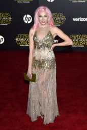 Bonnie McKee – Star Wars: The Force Awakens Premiere in Hollywood