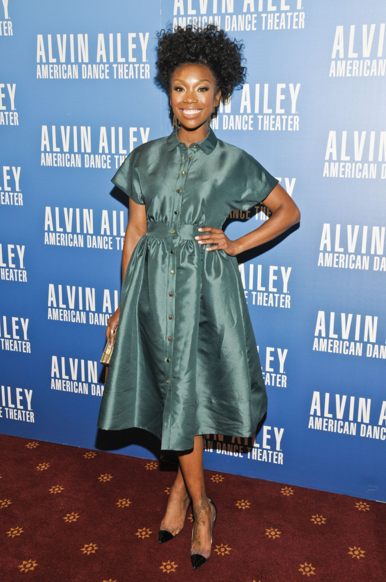 Brandy Norwood – Alvin Ailey American Dance Theater's 'Opening Night Gala' Benefit in Newark