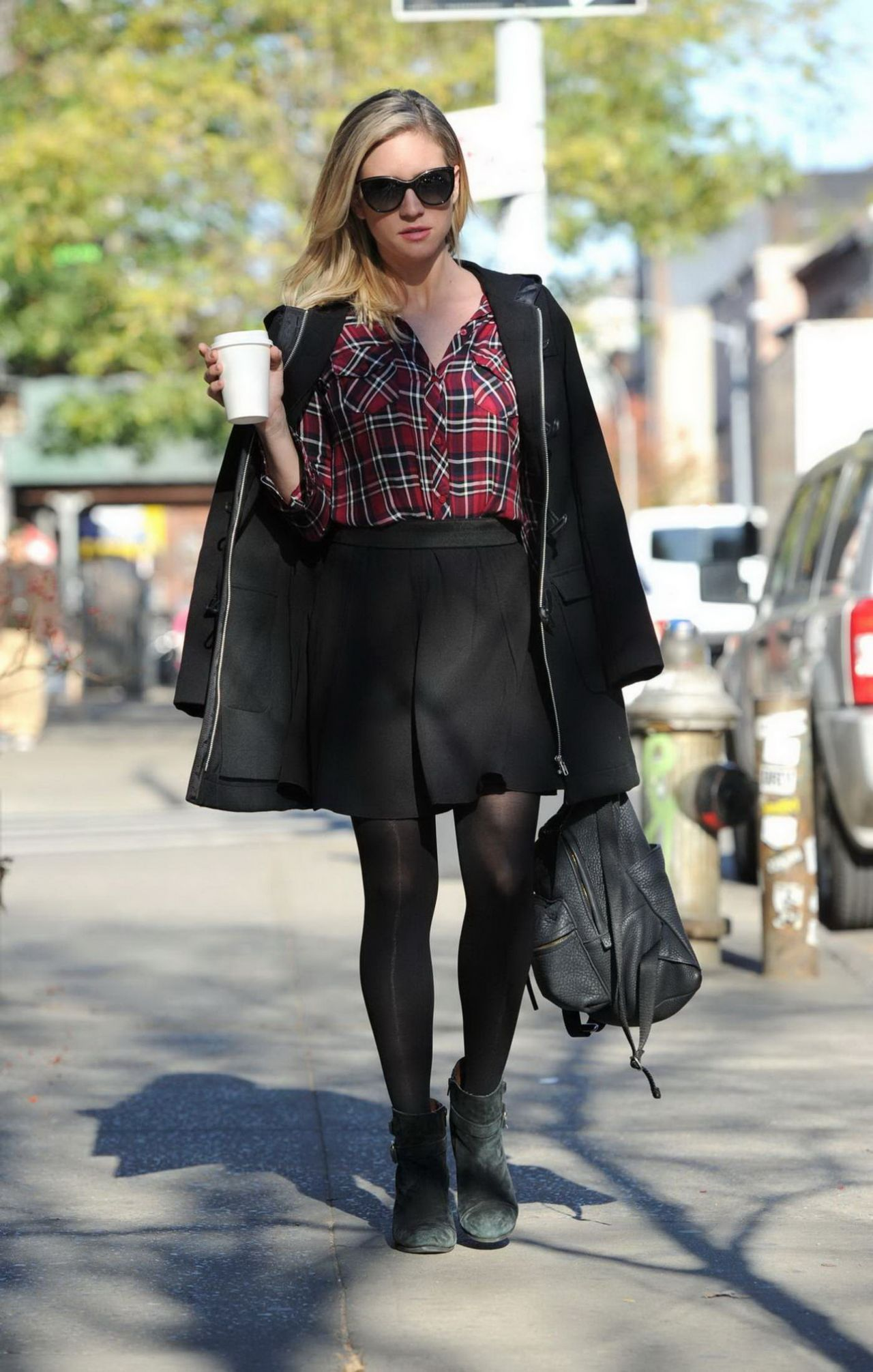 Brittany Snow Casual Style Shopping In Brooklyn 12 2 2015