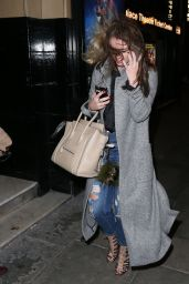 Brooke Vincent - Arrives at the Bodyguard Press Night at the Palace Theatre in Manchester, December 2015