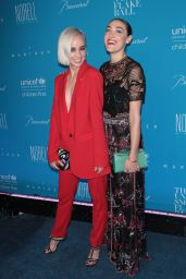 Caitlin Moe & Mia Moretti – 2015 UNICEF Snowflake Ball in New York City