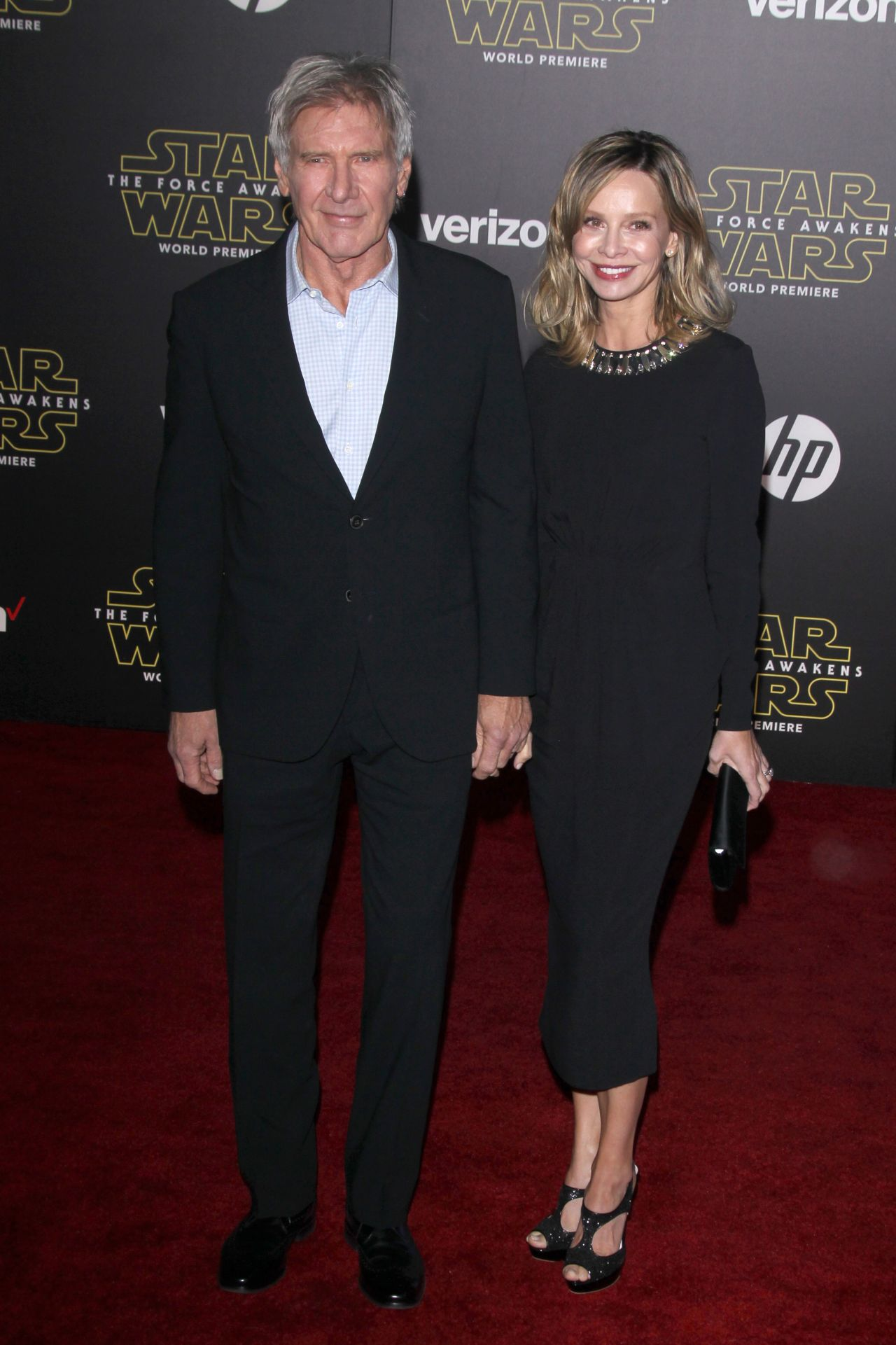 calista flockhart and harrison ford star wars the force awakens. Cars Review. Best American Auto & Cars Review