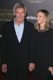 Calista Flockhart and Harrison Ford – Star Wars: The Force Awakens Premiere in Hollywood
