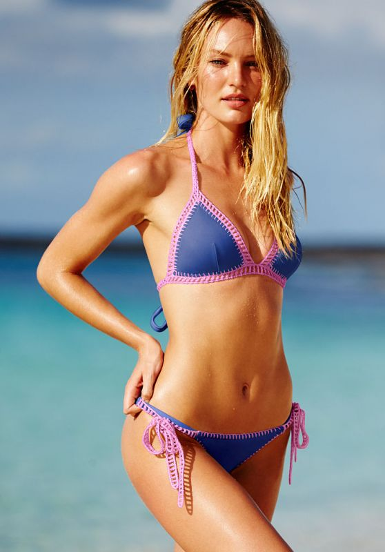 Candice Swanepoel Bikini Photos – Victoria's Secret December 2015 Part II