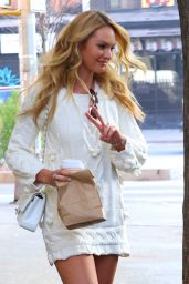 Candice Swanepoel - Visits
