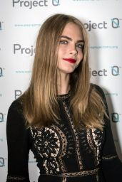 Cara Delevingne - Wave Makers: Fundraising Concert  - London 12/16/2015