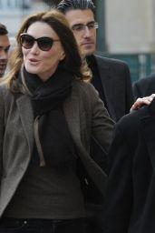 Carla Bruni - Attends the Regional Voting in Paris, 12/6/2015