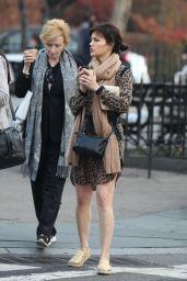 Carla Gugino Shopping in New York City 12/13/2015