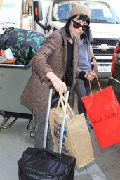 Carly Rae Jepsen at LAX Airport, December 2015