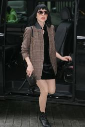 Carly Rae Jepsen Style - at BBC Radio One Studios London, 12-7-2015
