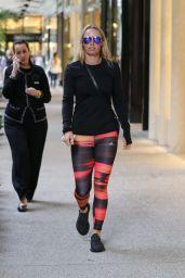 Carolina Wozniacki - Goes to Christmas Shopping Mall Ball Harbour Miami, December 2015