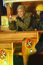 Caroline Flack - Having a Great Night Out at London