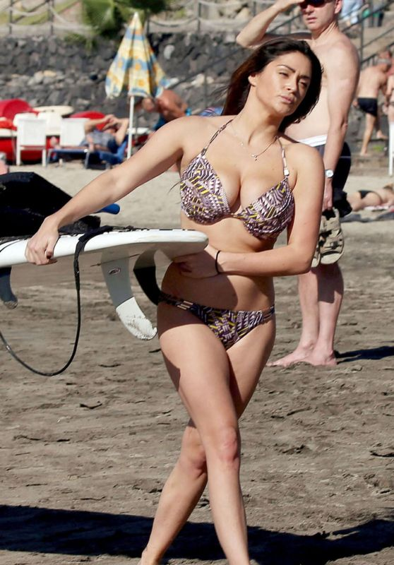 Casey Batchelor Bikini Pics - Ibiza, December 2015