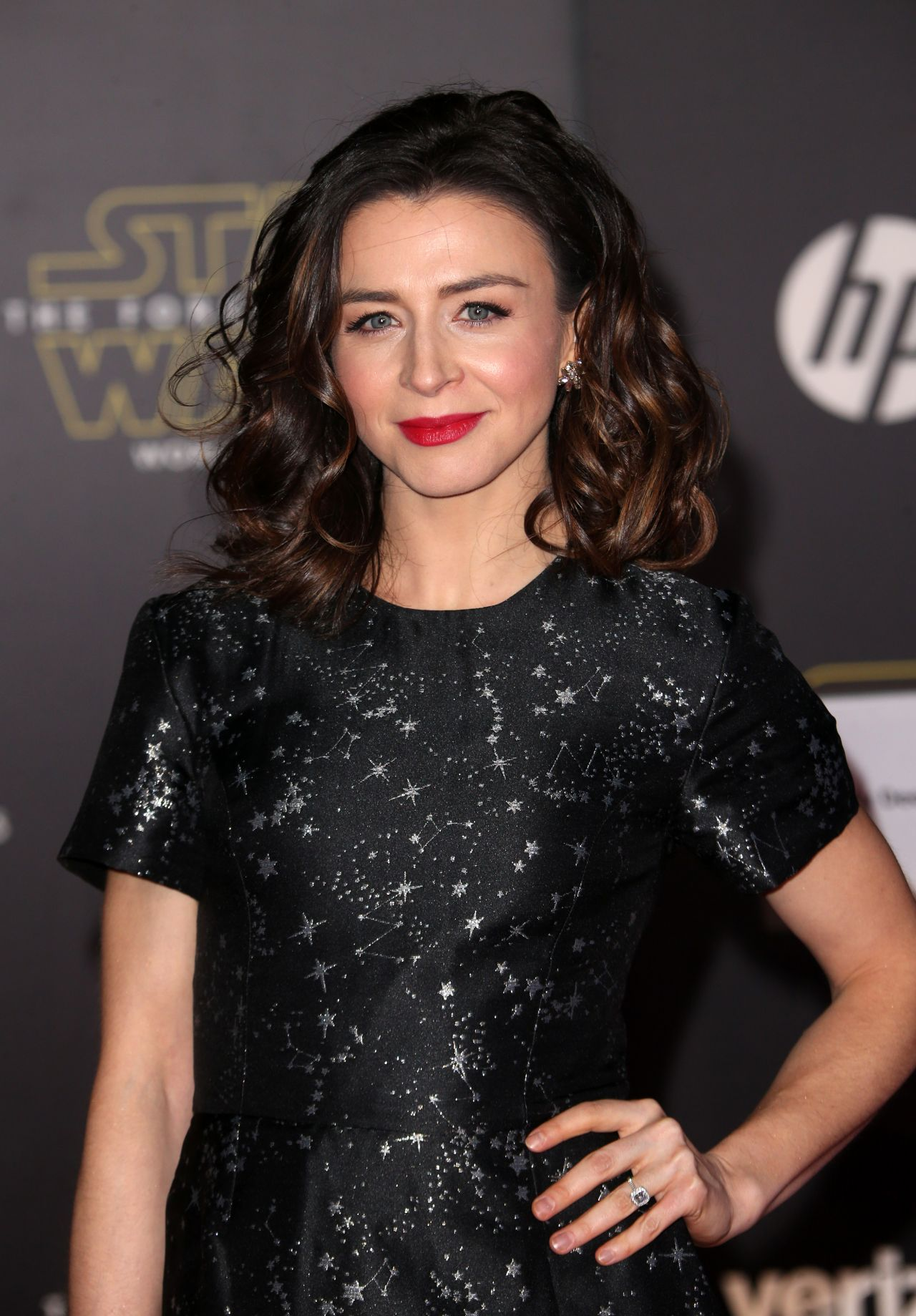 Caterina Scorsone Star Wars The Force Awakens Premiere