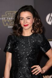 Caterina Scorsone – Star Wars: The Force Awakens Premiere in Hollywood