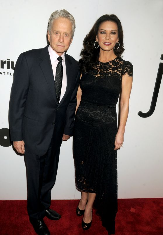 Catherine Zeta Jones and Michael Douglas - Opening of the Mica and Ahmet Ertegun Atrium in New York City