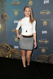 Chelsea Briggs – Cirque du Soleil's 'Kurios – Cabinet of Curiosities' Opening Night in Los Angeles 12/9/2015