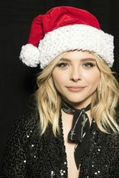 Chloë Grace Moretz - Jingle Ball Portrait December 2015