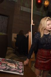 Chloë Moretz - Nylon Cover Party in Los Angeles, December 2015