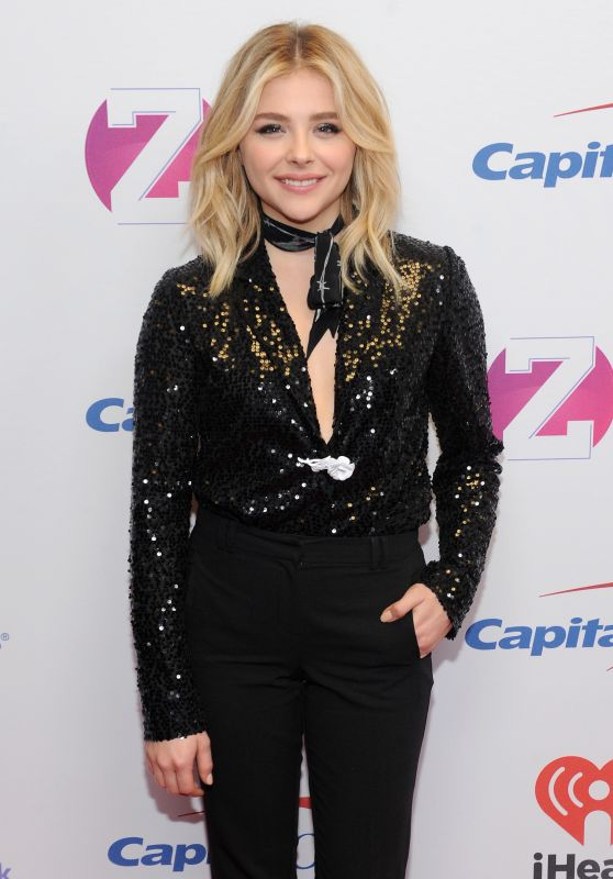 Chloe Moretz on Red Carpet – Z100 Jingle Ball 2015 in New York City