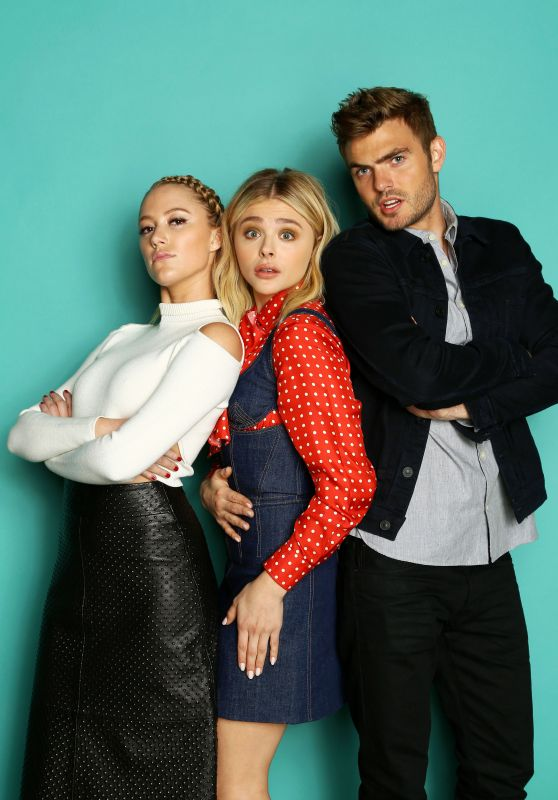 Chloe Moretz – Photoshoot for iHeartRadio Jingle Ball 2015 Part II