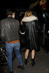 Chloe Sevigny Night Out Style - Leaving Chateau Marmont Los Angeles, December 2015
