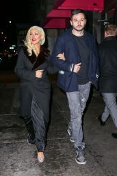 Christina Aguilera and Matthew Rutler - Heading for a Romantic Dinner at Rosa Mexicano Restaurant in NYC, December 2015