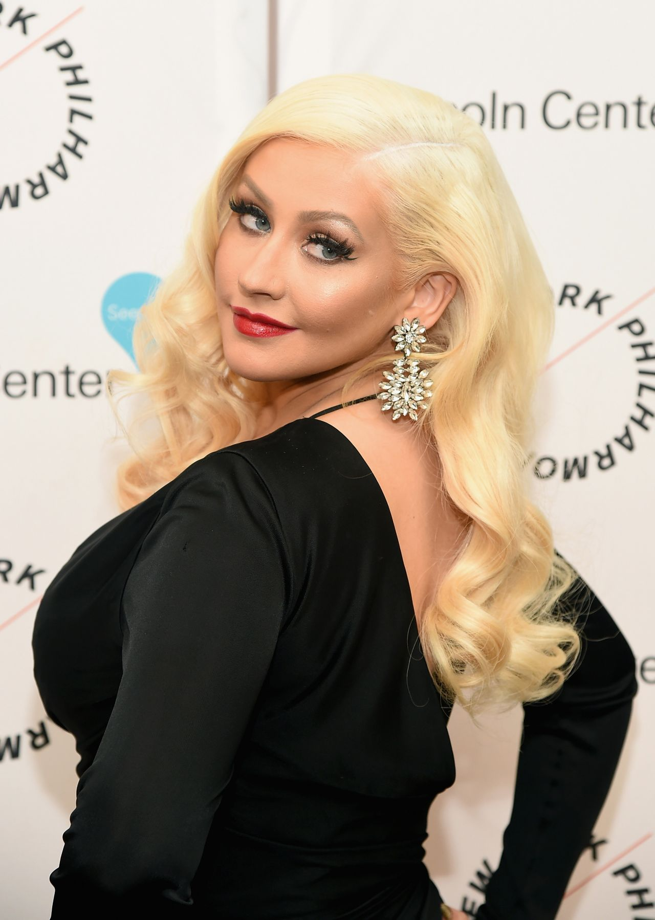 Christina Aguilera - Sinatra Voice for a Century Event in New York, 12 ...