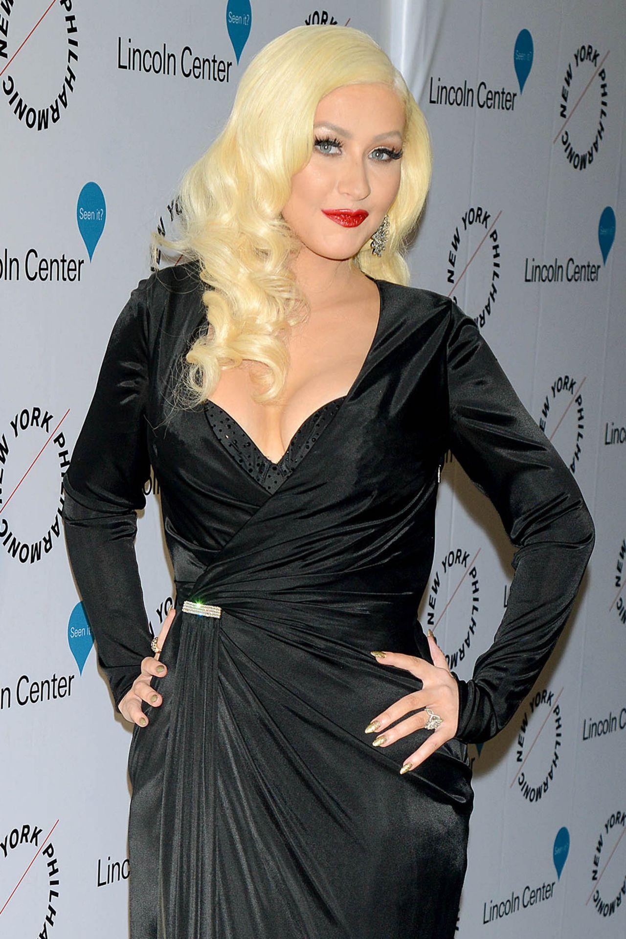 Christina Aguilera - Sinatra Voice for a Century Event in ... Christina Aguilera