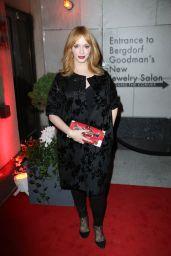 Christina Hendricks - The Bergdorf Goodman x Gemfields Jewelry Salon Opening Night Event in New York City