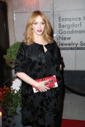 Christina Hendricks - The Bergdorf Goodman x Gemfields Jewelry Salon Opening Night Event in New York City