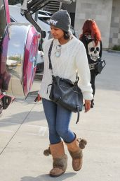 Christina Milian - Shopping in Studio City, December 2015
