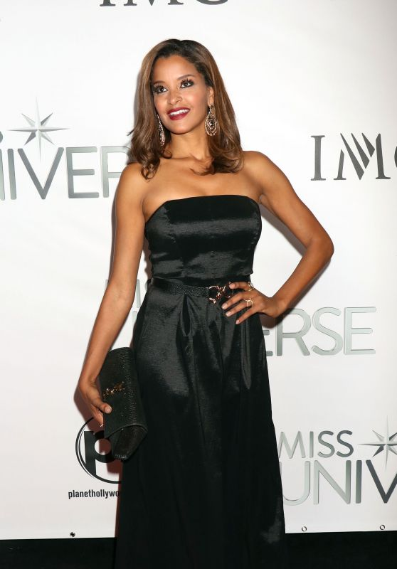Claudia Jordan – 2015 Miss Universe Pageant in Las Vegas