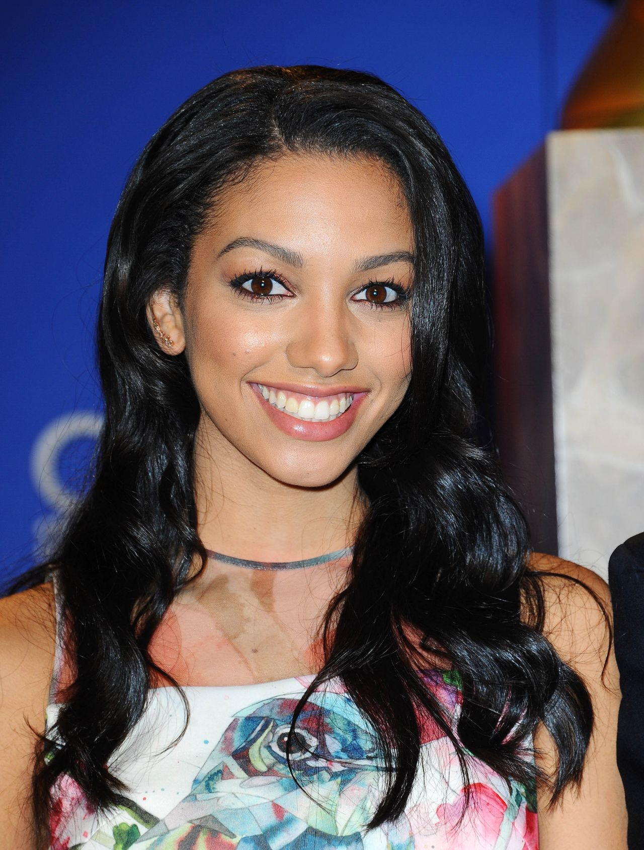 Corinne Foxx 2015 Golden Globe Nominations In Los Angeles