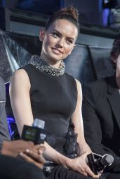 Daisy Ridley - Fan Meeting for The Force Awakens World Tour in Seoul, December 2015