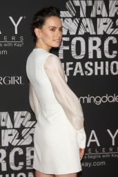 Daisy Ridley – Star Wars Force 4 Fashion Event in NYC, 12/2/2015