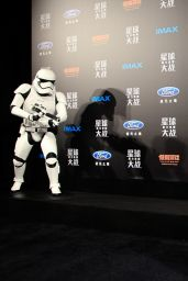Daisy Ridley - Star Wars Shanghai Fan Event 12/27/2015