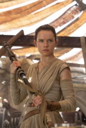 Daisy Ridley - Star Wars: The Force Awakens Poster, Stills and Promos 2015