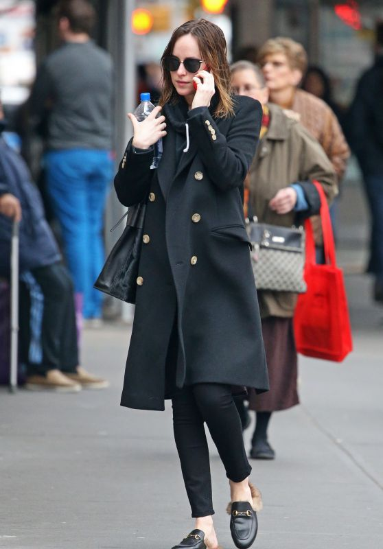 Dakota Johnson - Out in New York City, 12/14/2015