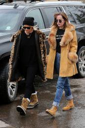 Dakota Johnson - Sighting in Aspen 12/22/2015