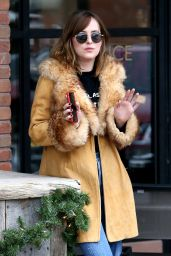Dakota Johnson - Sighting in Aspen 12/22/2015