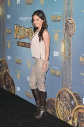 Danica McKellar – Opening Night of Cirque Du Soleil's 'Kurios-Cabinet Of Curiosities' in Los Angeles