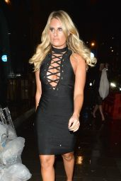 Danielle Armstrong – Attending Billie Faiers' In The Style Launch Party in London, December 2015