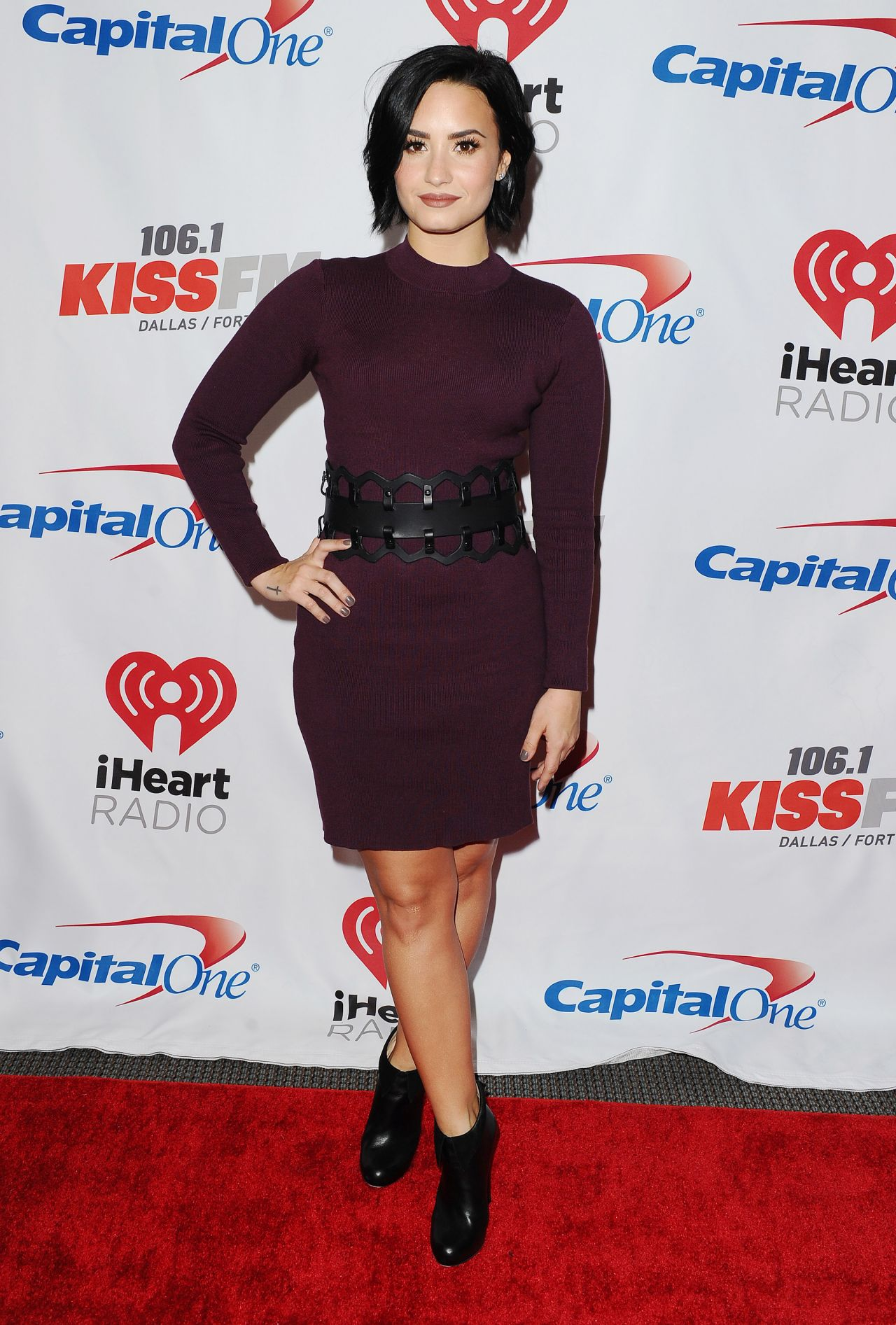 Demi Lovato 2015 Iheart Radio Jingle Ball At American