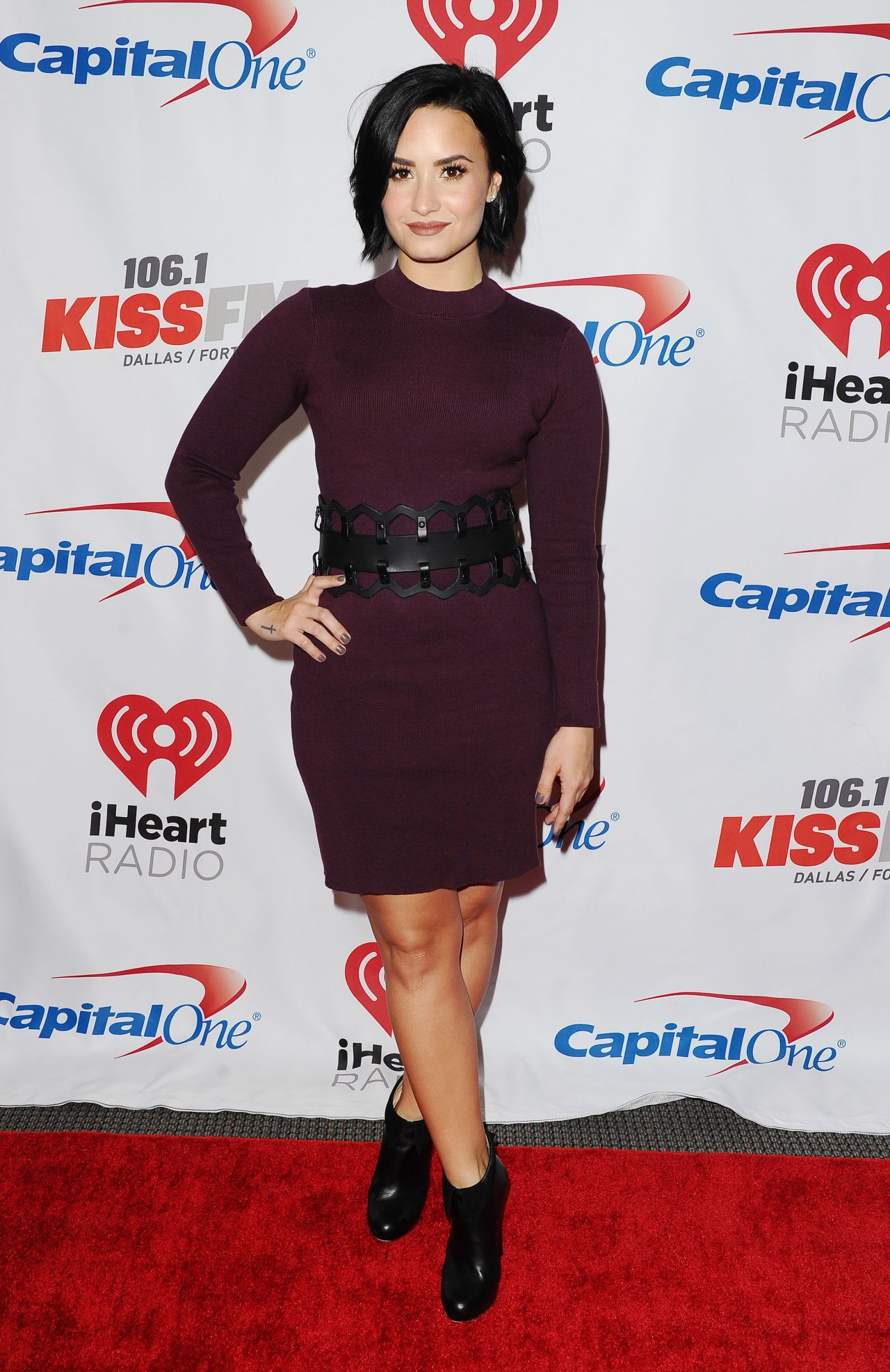Lovato - 2015 iHeart Radio Jingle Ball at American Airlines Center ...