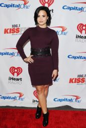 Demi Lovato - 2015 iHeart Radio Jingle Ball at American Airlines Center in Dallas