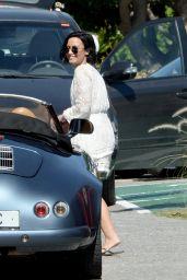 Demi Lovato - Filming the Victoria