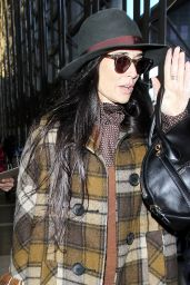 Demi Moore Airport Style - at LAX, December 2015