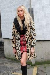 Diana Vickers Fashion - Outside ITV Studios in London, December 2015