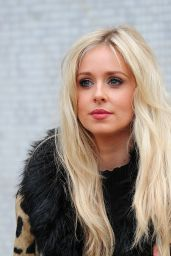 Diana Vickers Fashion - Outside ITV Studios in London, December 2015